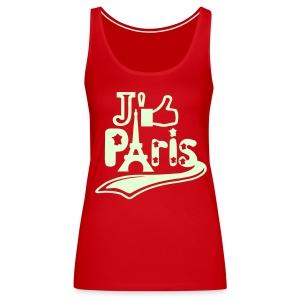 je like Paris tattoo et la tour Eiffel Débardeurs - Débardeur Premium Femme
