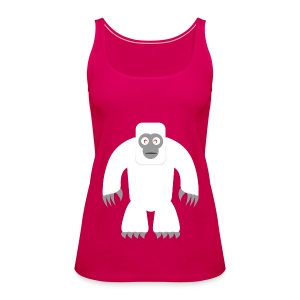 Yeti T-Shirt - Frauen Premium Tank Top
