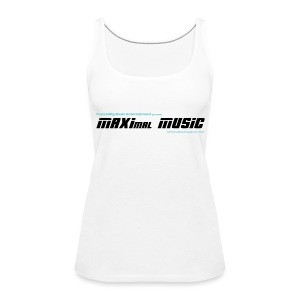 MAXimal Music Tank Top weiß - Frauen Premium Tank Top
