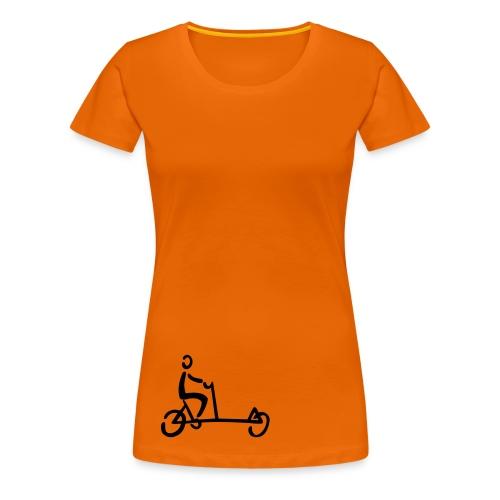 Lastenrad Shirt - Frauen Premium T-Shirt