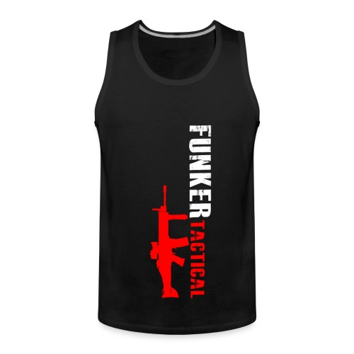 Men's Premium Tank Top - youtube,tshirt,shooting,hoodie,guns,gear,funker530,funker tactical,clothing,afghanistan