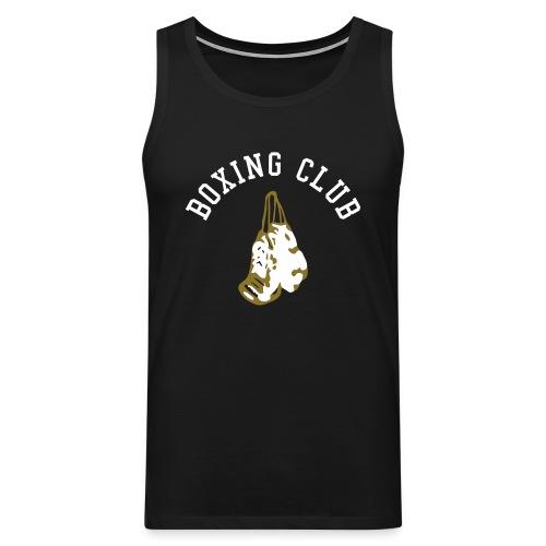 tee shirt sans manche boxing club - Débardeur Premium Homme