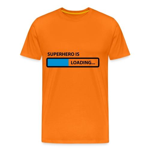 SUPERHERO LOADING ! - Men's Premium T-Shirt