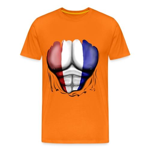 Mannen T-shirt - Spieren, Holland - Mannen Premium T-shirt
