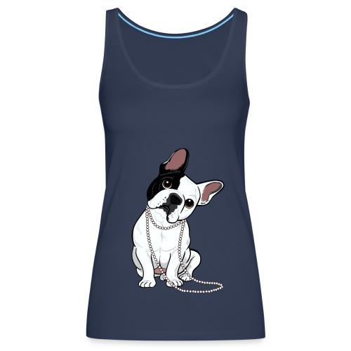 Débardeur Premium Femme - Design réalisé pour Marie-Sabotine.com par Lili CHIN (http://doggiedrawings.net) - All rights reserved -
