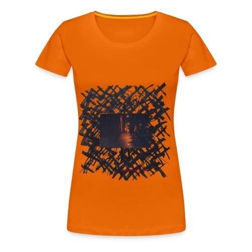 Inconcreta 5 chica naranja - Camiseta premium mujer