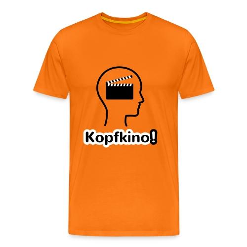 Kopfkino! - Männer Premium T-Shirt