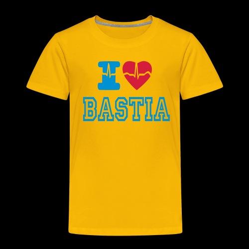 I LOVE BASTIA - Kids' Premium T-Shirt