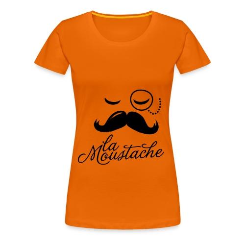 La Moustache - Women's Premium T-Shirt