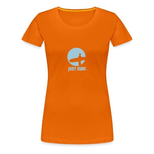T-shirt Premium Femme - tshirt de surf