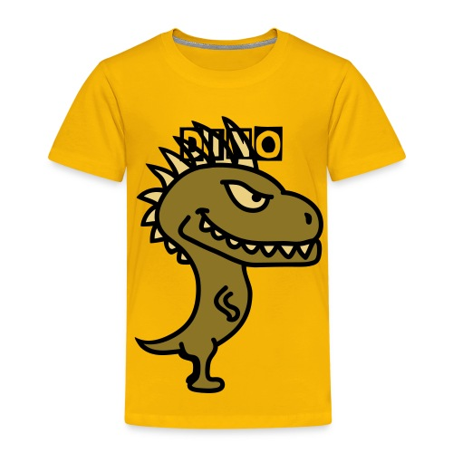 dino kid shirt - Kids' Premium T-Shirt