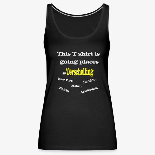 Terschelling T-shirt - Women's Premium Tank Top