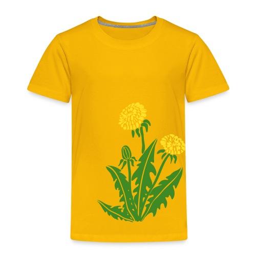 t-shirt löwenzahn dandy lion pusteblume butterblume natur blume - Kinder Premium T-Shirt