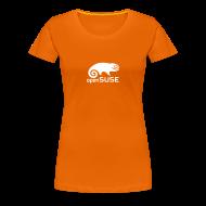 T-Shirts ~ Women's Premium T-Shirt ~ Women's Tee White Logo