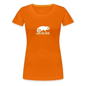 Women's Tee White Logo - Women's Premium T-Shirt