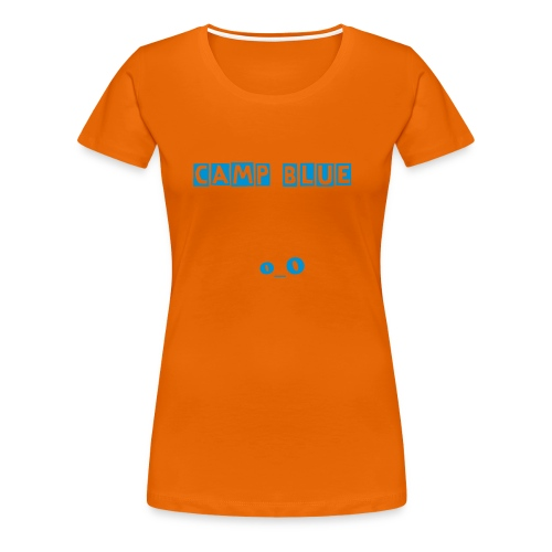 Camp Blue - Women's Premium T-Shirt