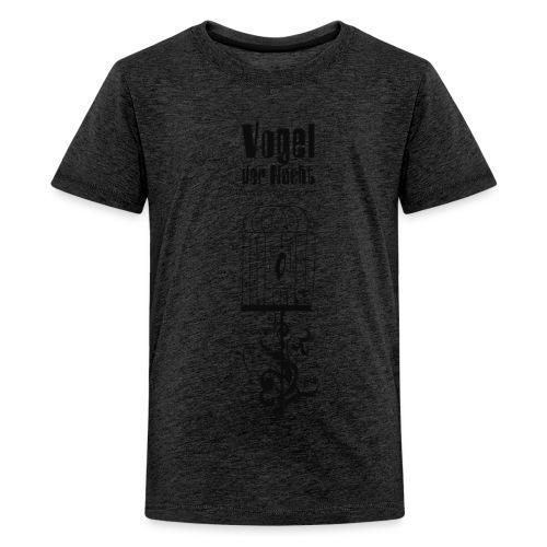 Vogel der Nacht Teen-Shirt Käfig - Teenager Premium T-Shirt