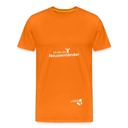Männer-T-Shirt Neuseenländer - Männer Premium T-Shirt