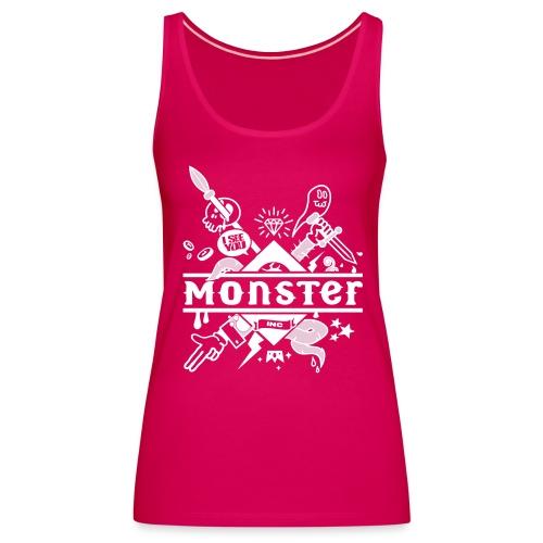 [monster girl] rose - Women's Premium Tank Top