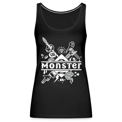 [monster girl] noir - Women's Premium Tank Top