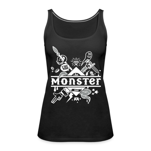 [monster girl] noir - Women's Premium Tank Top