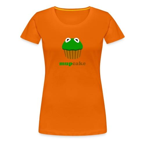 Mupcake (dames) - Vrouwen Premium T-shirt