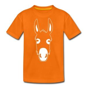 esel t-shirt donkey maultier muli jackass mule - Teenager Premium T-Shirt
