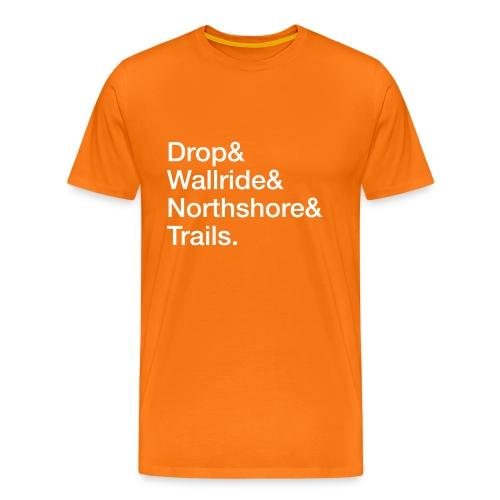 Drop & Wallride & … - Männer Premium T-Shirt