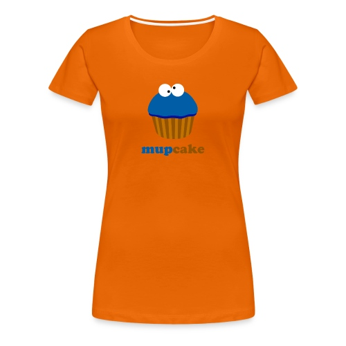 Mupcake Koekiemonster (dames) - Vrouwen Premium T-shirt