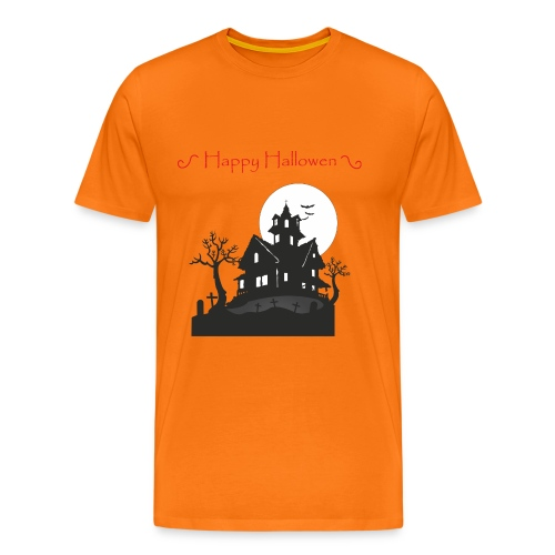 Haunted House - Men's Premium T-Shirt