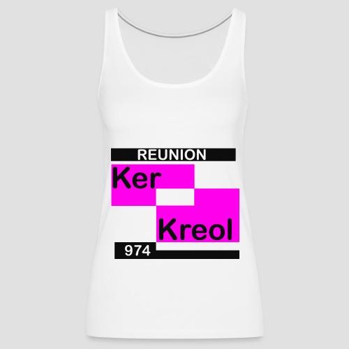 Débardeur dos nageur Femme 974 Ker Kreol  Carr - Débardeur Premium Femme