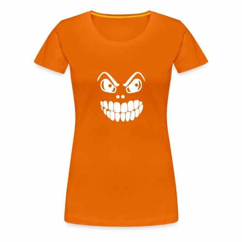 Gruselmaske - Frauen Premium T-Shirt