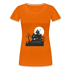 Haunted House - Women's Premium T-Shirt