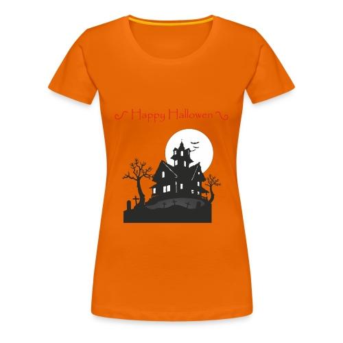 Haunted House - Women's Premium T-Shirt