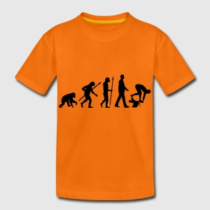 evolution_schwimmer_102012_a_1c T-Shirts - Teenager Premium T-Shirt