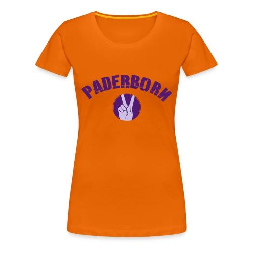 Paderborn Gruß - Frauen Premium T-Shirt