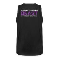 Sports wear ~ Men's Premium Tank Top ~ Beastmode Beast Purple TANK