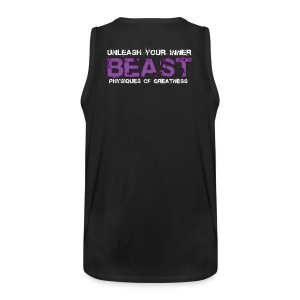 Beastmode Beast Purple TANK - Men's Premium Tank Top
