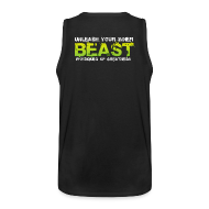 Sports wear ~ Men's Premium Tank Top ~ Beastmode Beast Green TANK