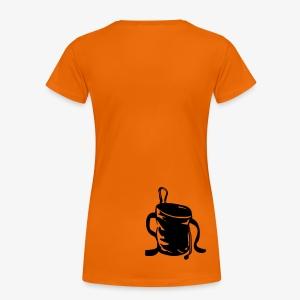 Chalkbag (women) - Frauen Premium T-Shirt