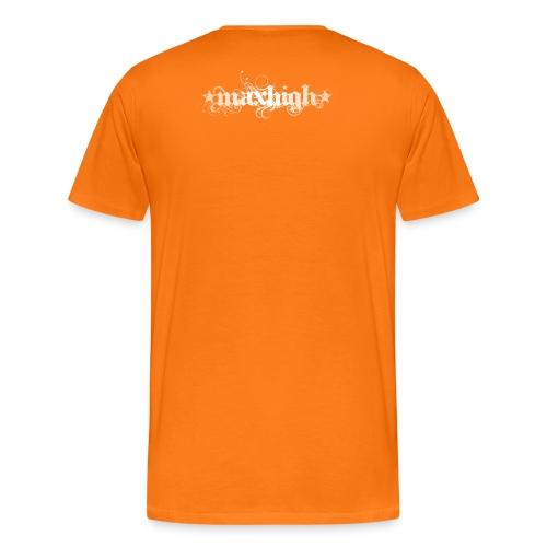 Aufwendiges Shirt orange - Männer Premium T-Shirt