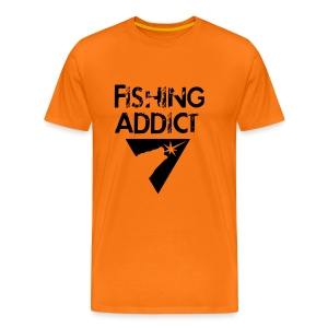 Fishing-shirt all-in-1 black legend - T-shirt Premium Homme