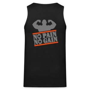No Pain, No Gain Tank Top - Men's Premium Tank Top