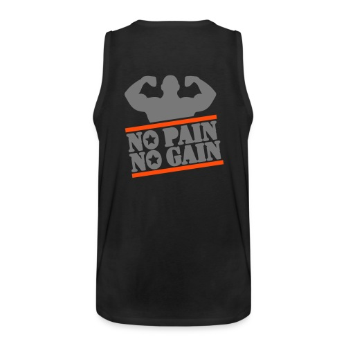 No Pain, No Gain Tank Top - Men's Premium Tank Top