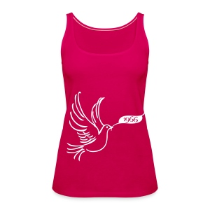 Peace dove with year 1966 Tops - Women's Premium Tank Top