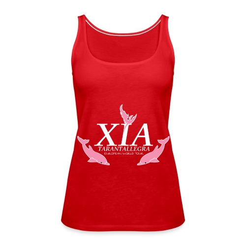 Official Fanclub Shirt / XIA World Tour  - Women's Premium Tank Top