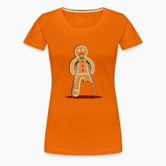 gingerbread man hurt (red) T-Shirts