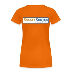 Racket Center - Frauen Premium T-Shirt