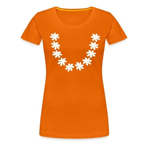 T-shirt collier tiare tahiti - T-shirt Premium Femme