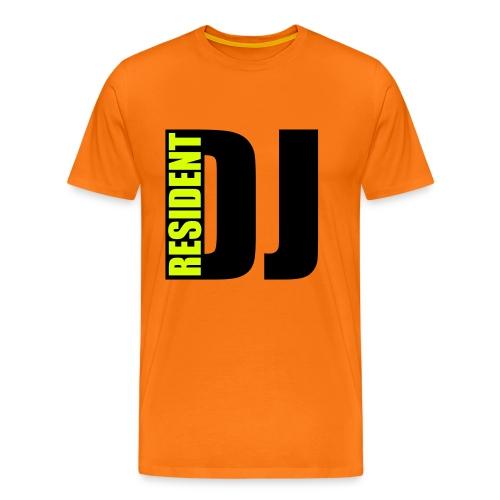 Resident DJ - Männer Premium T-Shirt